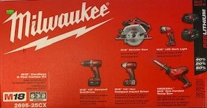 5 Tool Combo Kit