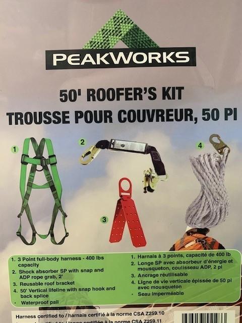 50 Roofer s Kit