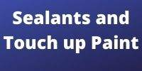 sealants and touch up paint
